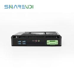 Processeur Intel Core i7 4e 5e processeur Dual NIC Gigabit 6 ports USB Mini PC de bureau Ordinateur industriel sans ventilateur