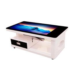 MONITOR-Screen-Kaffee-Spiel-Tisch 43 Zoll-interaktive Konferenz-Gaststätte-oberster intelligenter Digital-Multifunktions-LCD Innen