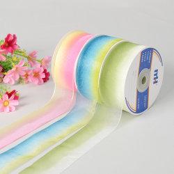 Rainbow Sheer Ribbon, Mehrfarbig