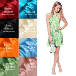 Diseño de Moda Tela satinada de seda de Impresión Digital para vestir