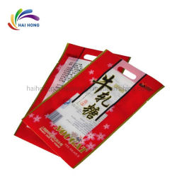La Junta caliente bolsa de embalaje de plástico bolsas de embalaje de alimentos para el almuerzo de rollo de película y el azúcar blanco granulado