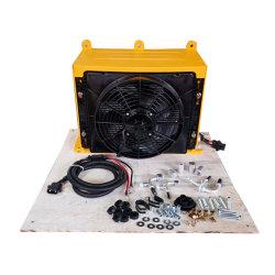 Sistema de ar condicionado para veículo com DC24V e DC12V Modelo A