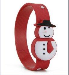Belüftung-Weihnachtsgeschenk-SchneemannWristband USB-Blitz-Laufwerk