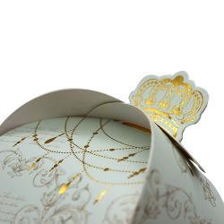 L'halloween Cute Cartoon Candy Carton Pack cadeau une bande de papier Le papier noir Pillow box avec poignée