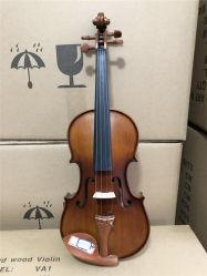 La Chine de haute qualité de l'épinette solide le violon avec accessoire de buis