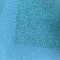 100%COTON tissu Costume de ski de nouvelle conception avec 100%Polyester tissu brossé