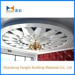 Enganchado folheado de alumínio de material de construção de painel de decoração / Painel de parede para o teto e o Telhado