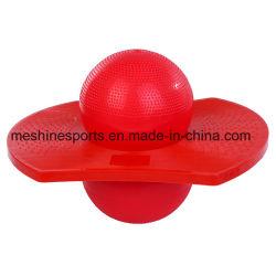 Salto rimbalzante variopinto dei capretti e dell'adulto/fornitore di salto della sfera di Pogo