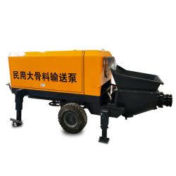 Pompa per calcestruzzo aggregata di Converying del motore diesel di alta efficienza grande