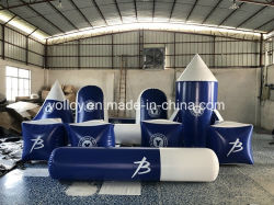 Sellado de aire Paintball inflable Bunker para el campo de Paintball