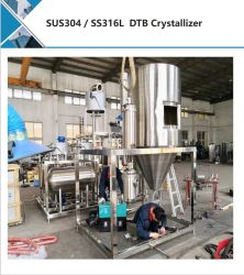 Cristallizzatore di Dtb della soluzione salina/strumentazione di cristallizzazione