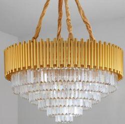 K9 Crystal Reports в раскрывающемся списке дождя люстра и современным потолком подвесной светильник люстра лампа