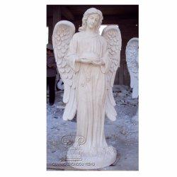 Egyptische Creme Garden Ornament Stone Granite Statue Angel Sculpture