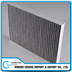 Tipos Tela Filtrante Agua-aire del Carbón de la Especificación HEPA Activaed Rolls