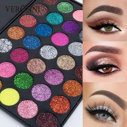 VERONNI Nouvelle 35 Charmant Glitter couleur 3D OMBRE À PAUPIÈRES Palette maquillage Fard à paupières de pigments haute Esthétique Cosmétique Shimmer Eye shadow