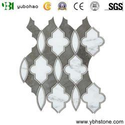 Mosaico di marmo rosso grigio beige blu nero bianco di pietra naturale del basalto della quarzite del Onyx del quarzo del granito di verde giallo del Brown con rame per il soffitto della parete del pavimento