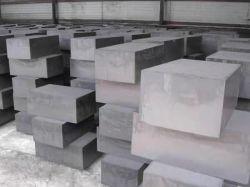 Densidade 1,85 g 1,91 g de haste de grafite para fundição contínua cobre