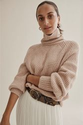 Pure Cashmere Crew Neck Fashion Knitwear Voor Dames