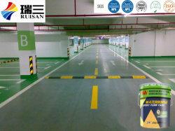 Cinq couleurs de l'eau Finition peinture époxy basées au sol pour les terrains de stationnement sous-sol