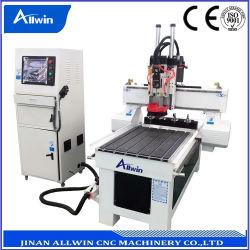 Changement d'outil linéaire 6090 CNC routeur de la machine pour le travail du bois