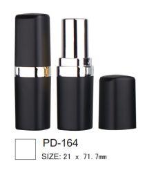 Tube carré rouge à lèvres cosmétique plastique emballages cosmétiques