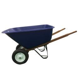 Riga della barra di rotella di plastica della benna dello strumento di giardino di alta qualità con grande capienza
