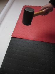 PVC-tegel met verborgen verbinding - 505X505X6,5 mm