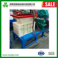 Industrielles Double Shaft Wooden Pallets Shredder Machine Wood Chipper Shredder für Sale