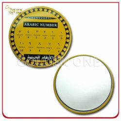 カスタム新しい方法単一の側面の金属の錫の化粧品ミラー