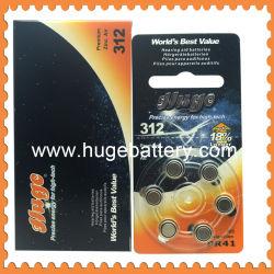 1.4V ボタン電池補聴器電池( A312 )