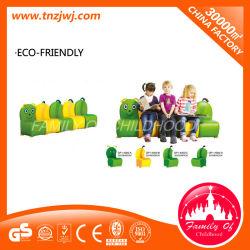 A modelagem da Caterpillar Kindergarden Mobiliário sofá de PVC