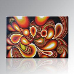 Reproductie van het Olieverfschilderij van Everfun de Met de hand gemaakte Abstracte op de Kunst van de Muur van het Canvas (XD1-206)