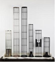 Saco de filtro oval e redonda Cage