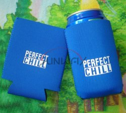 도매 승진 선물 접을 수 있는 맥주 캔 홀더 그루터기 같은 깡통 냉각기 (BC0002)