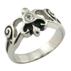CZ kundenspezifische Prinzessin Mini Wedding Crown Ring