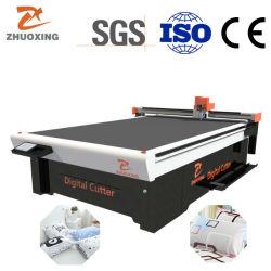 Zhuoxing cubierta de sofá de alta velocidad, máquina de corte de cuchilla oscilante