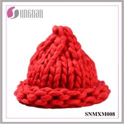 Última criativo de fios grossos Hand-Knitting Multicor chapéu de acrílico