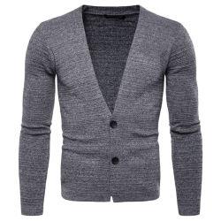 La mode de l'homme chandail Cardigan pour l'automne Knitwear petite commande de gros