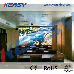 Taux de rafraîchissement élevé 3840Hz P1.875 Indoor Afficheur à LED pour salle de réunion