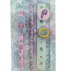 Meilleur cadeau personnalisé Souvnier Trousse Scolaire Papeterie ensemble cadeau créatif kit portable pour les enfants