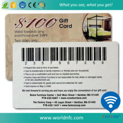 Beste Preis Belüftung-Visitenkarte/Geschenk-Karte mit Barcode