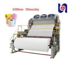 Carta straccia della strumentazione della paglia di carta del frumento per la macchina della carta igienica della polpa