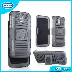 TPU hybride PC Téléphone cellulaire en caoutchouc couvertures de cas PARA Celulares pour Motorola G4