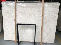 Bom preço alemão Bege Coral Creme Jura cinza/branco/preto lajes de mármore para piso interior corte na parede de azulejos de tamanho