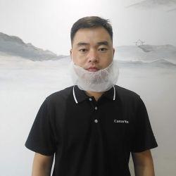 使い捨て可能なひげのホテルかレストラン非編まれたPPは伸縮性があるひげマスクを選抜する