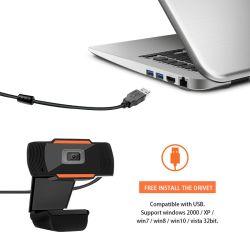 1080P HD örtlich festgelegter Fokus-freier Fahrer-Webcam HD USB-Bau im Mic-PC Kamera USB-Webcam CMOS