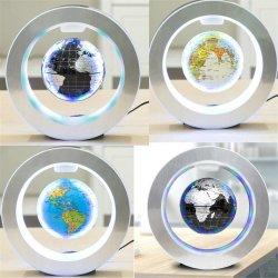 Mapa do Mundo LED redondos novidade Globo Flutuante Antigravity Luz de levitação magnética Magic/lâmpada nova Bola de plasma DEC Bola de plasma
