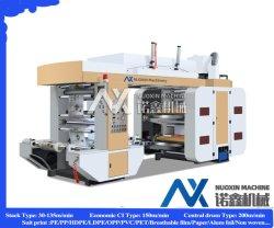4 цвет бумаги Flexographic пластиковой пленки/Flexo механизма печати