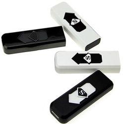 Plástico ABS barata Acendedor de Cigarros USB tem proteção contra os isqueiros eléctricos