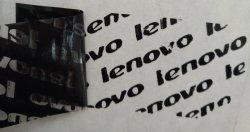 Hotsale Lenovo를 위한 부분적인 이동 탬퍼 분명한 이동 공허 레이블 주문 로고